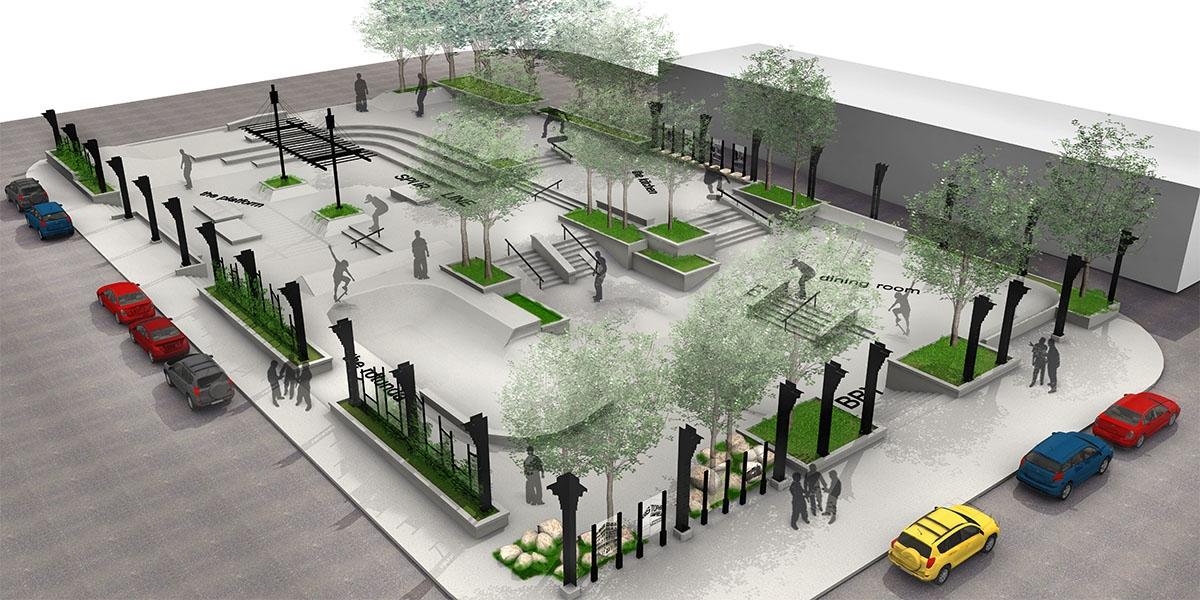 Kristopher Campbell Memoral Skateboard Plaza