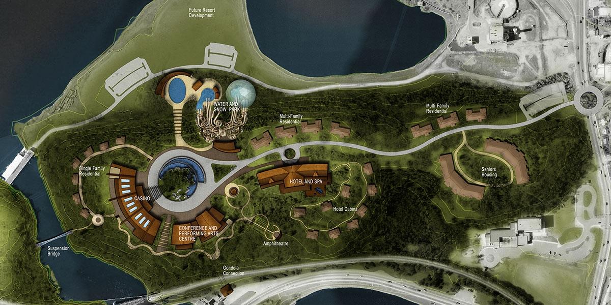 Rideout Bay Casino, Kenora, Ontario, Treaty 3 Lands
