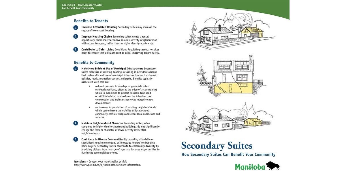 Municipal Planning Guidelines for Secondary Suites